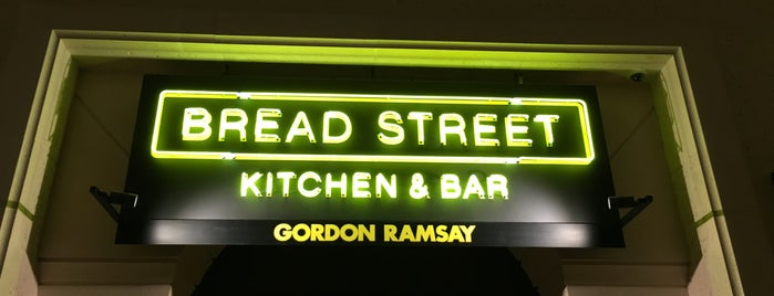 Bread Street Kitchen & Bar is one of Locais curtidos por Mohammad.