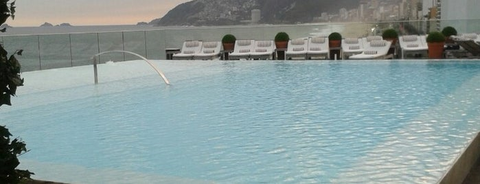 Hotel Fasano is one of 50 Best Swimming Pools in the World.