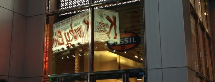 Fossil Store is one of Fashion's Night Out in Times Square.