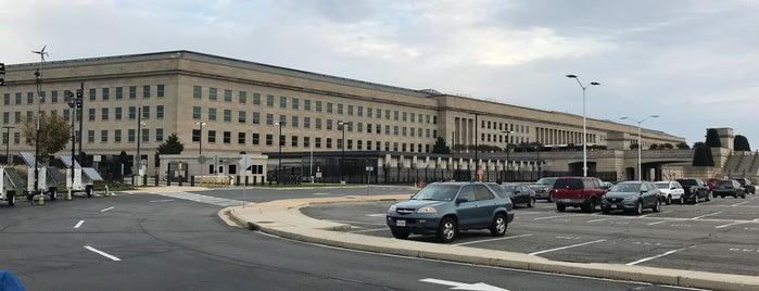 Pentágono is one of Washington DC.