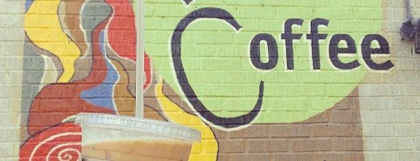 Vintage Coffee is one of Lennon's Essential OKC Metro.