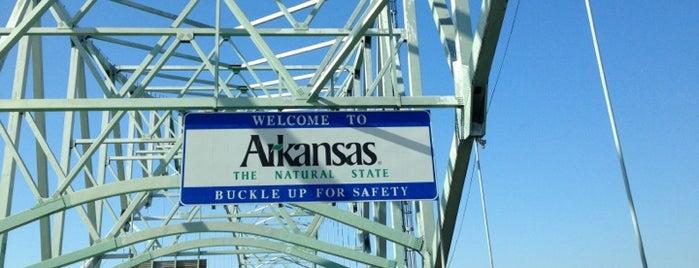 Hernando de Soto Bridge is one of Tennessee must visits!.