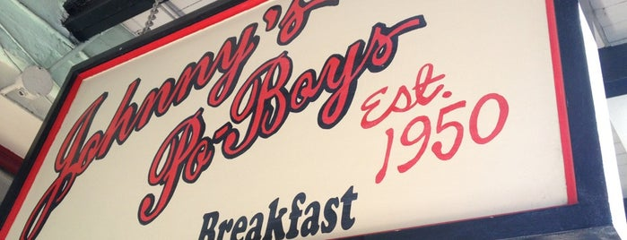Johnny's Po-Boys is one of Where to Eat & Drink in NOLA.