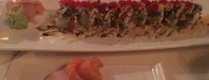 Friends Sushi is one of สถานที่ที่ Dana ถูกใจ.
