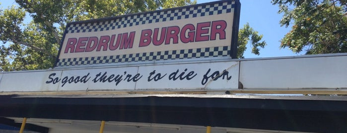 Redrum Burger is one of Of Interest.