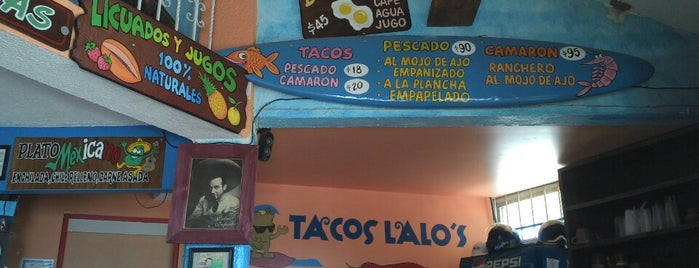 Tacos Lalo is one of Lieux qui ont plu à Karla.
