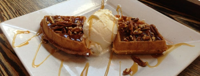 Pure Waffle is one of London's great locations - Peter's Fav's.