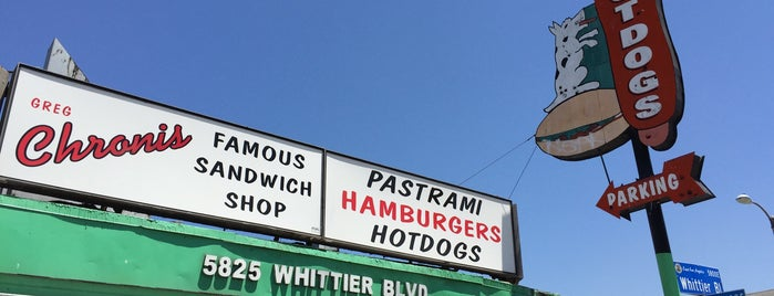 Chronis Famous Sandwich Shop is one of Pacific Old-timey Bars, Cafes, & Restaurants.