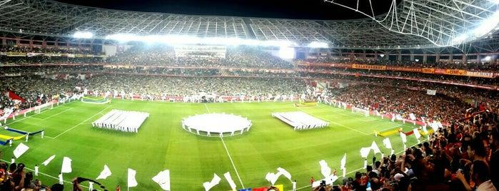 Antalya Stadyumu is one of AntaLya :)).