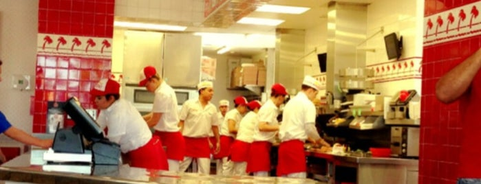 In-N-Out Burger is one of food places.