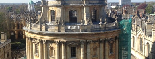 Sheldonian Theatre is one of oxf.