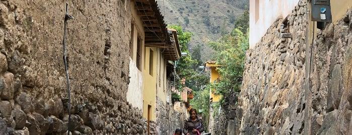 Ollantaytambo is one of Cusco y Matchu Pitchu.