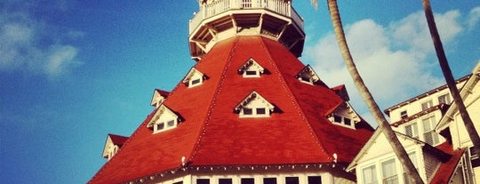 Hotel del Coronado is one of San Diego, CA.
