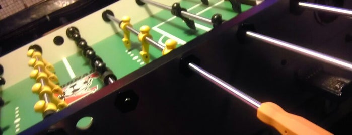 Parkside Lounge is one of Foosball bars.
