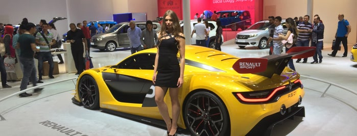 Istanbul Autoshow 2015 is one of Lugares favoritos de ESRA👑.