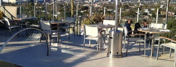 The Roof On Wilshire is one of LA Bar Resto.