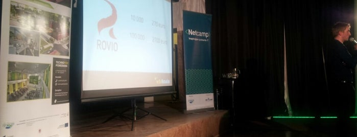 Netcamp - Inspirujące spotkania IT is one of Foursquare Specials in Poland.