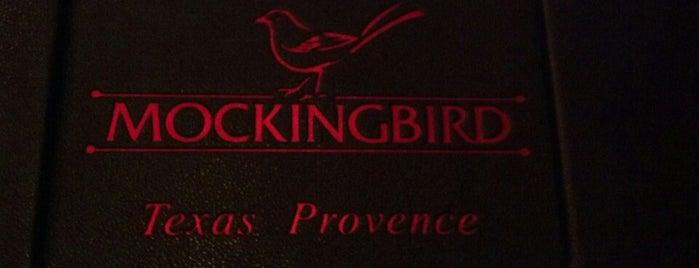 Mockingbird Bistro is one of Best Houston Brunch Spots.