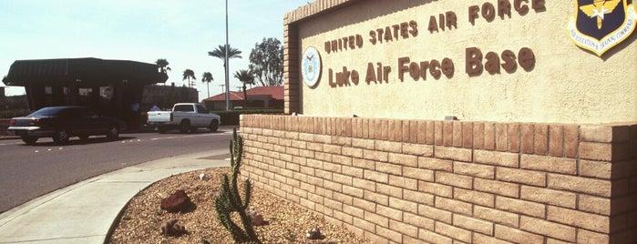 Luke Air Force Base is one of Global Workallholics Unified.