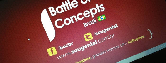 Battle of Concepts Brasil is one of lab.