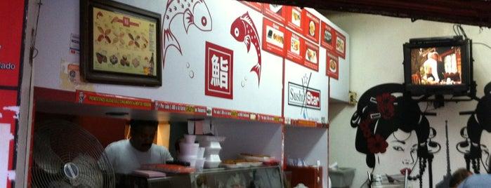 Sushi Star is one of สถานที่ที่บันทึกไว้ของ Vicky Nito.