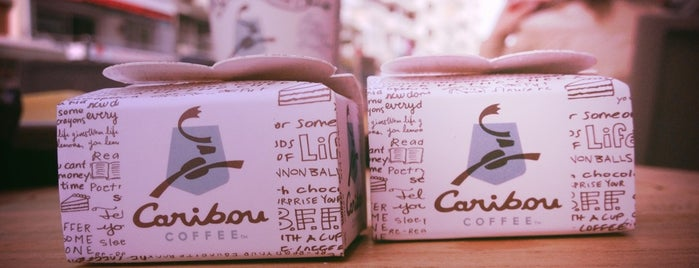 Caribou Coffee is one of Lugares favoritos de Tarık.