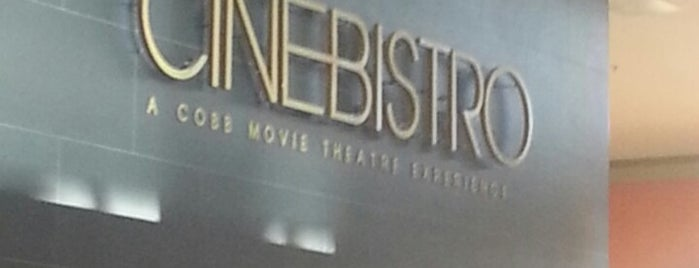 CinéBistro at Dolphin Mall is one of Tempat yang Disimpan Lukas.