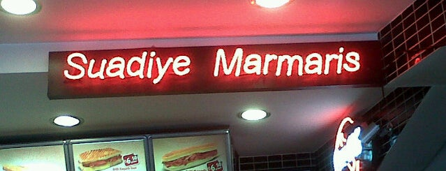 Suadiye Marmaris is one of Restaurant-Cafe.