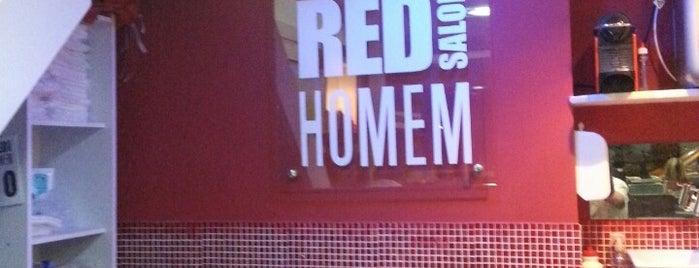 Red Salon Homem is one of Posti che sono piaciuti a André.
