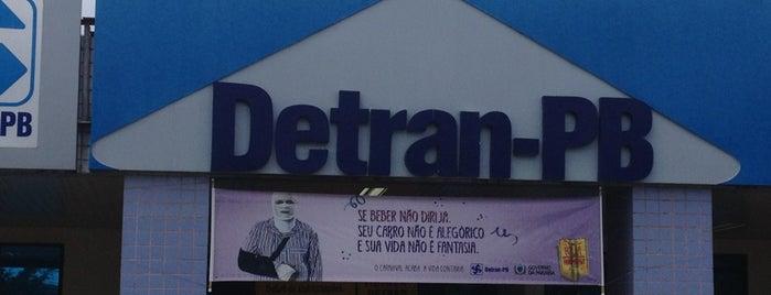 Detran is one of Locais curtidos por Malila.