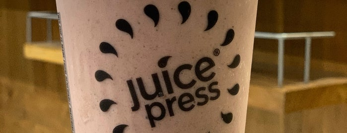 Juice Press is one of Tribeca.