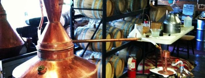Golden Artisan Spirits is one of Craft Distilleries Guide Dec 2011.