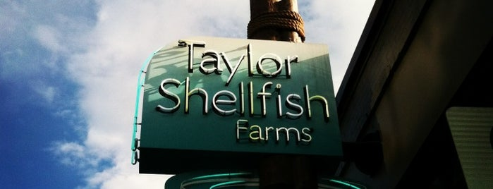Taylor Shellfish Farms is one of ShuckerPaddy's Oyster Bars.