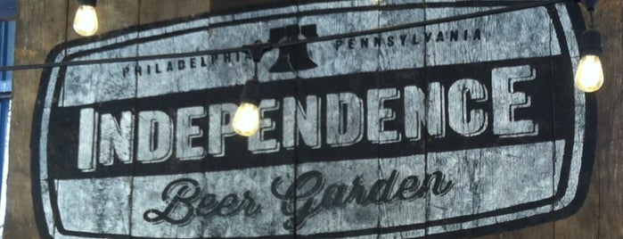 Independence Beer Garden is one of Center City Sips 2015.