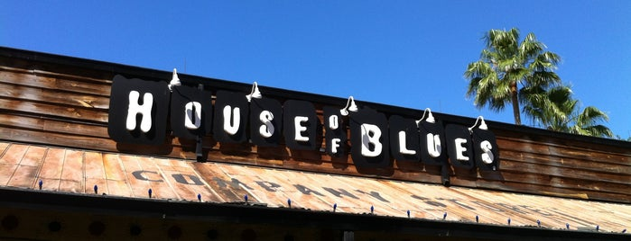 House of Blues is one of Disney Springs.