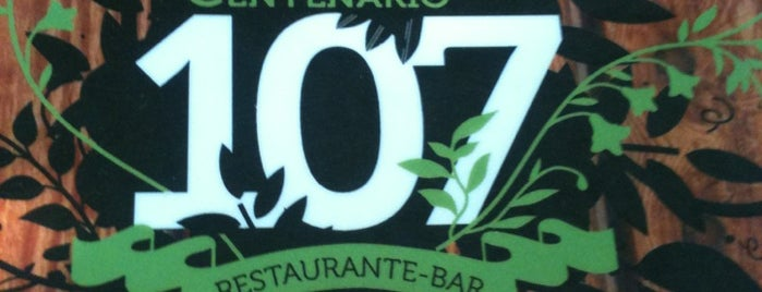 Centenario 107 is one of Restaurantes.