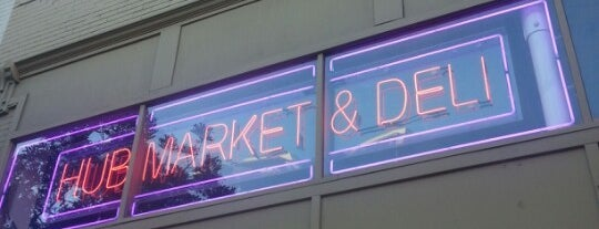Hub Market & Deli is one of Eat like Kevin & Darrell.