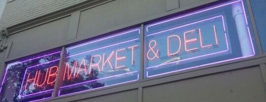 Hub Market & Deli is one of Lieux sauvegardés par Daniel.