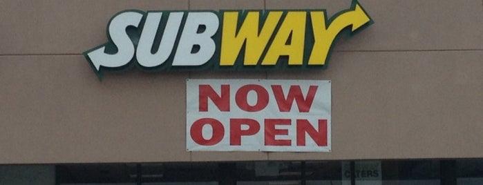 Subway is one of Restaurants near work.