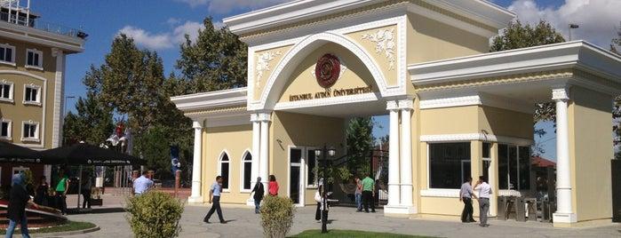 İstanbul Aydın Üniversitesi is one of Lugares favoritos de haltunel3442.
