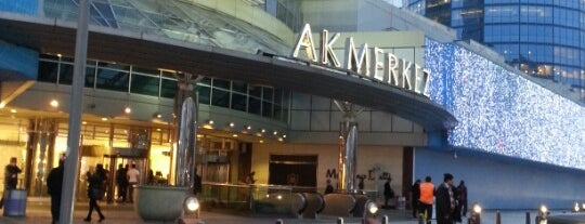Akmerkez is one of AVM'ler.