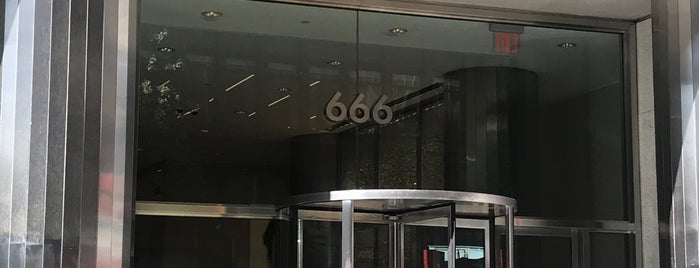 666 3rd Avenue is one of Public Spaces - East Side.