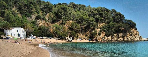 Playa de Canyelles is one of Playas de España: Cataluña.