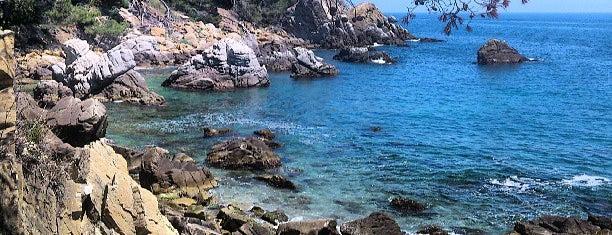 Cala d'en Trons is one of Playas de España: Cataluña.