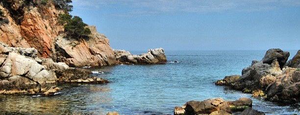 Cala Morisca is one of Playas de España: Cataluña.