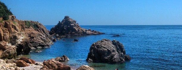 Cala Santa Anna / Capellans is one of Playas de España: Cataluña.