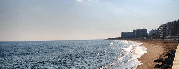 Platja de s'Abanell is one of Playas de España: Cataluña.