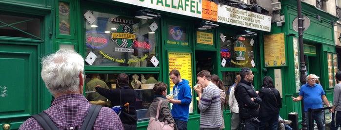 L'As du Fallafel is one of Paris cheap eats.