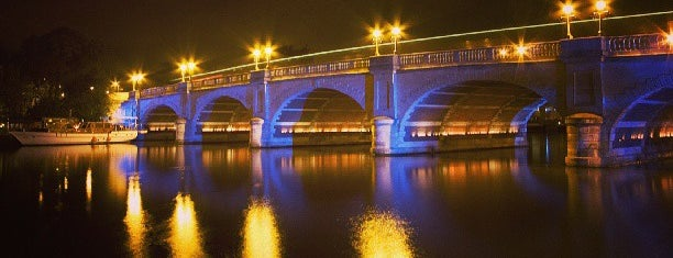 Kingston Bridge is one of England.