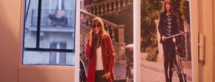 Claudie Pierlot is one of La parisienne fashion style.